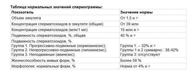 Индекс фертильности у мужчин разного возраста - мужской портал