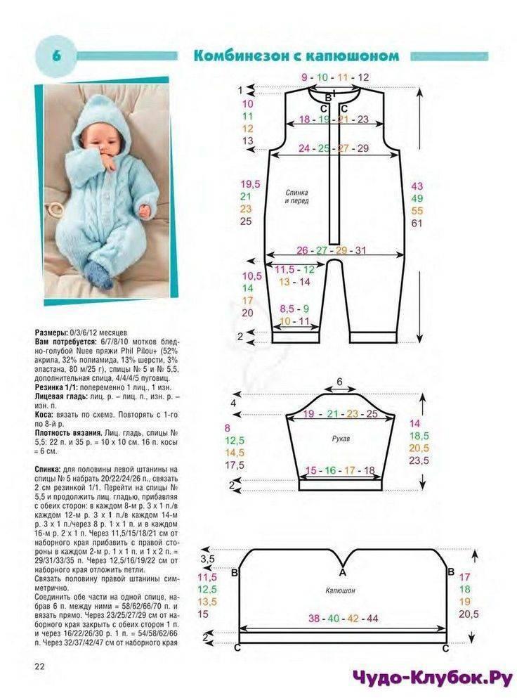 Вязаные вещи для новорожденных своими руками. схемы с описанием, модели для мальчиков, девочек