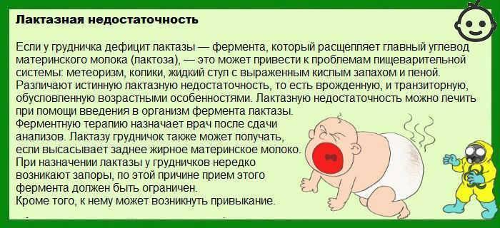 Особенности поноса у новорожденного при грудном вскармливании