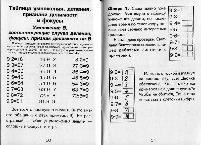 Три легких способа навсегда выучить таблицу умножения