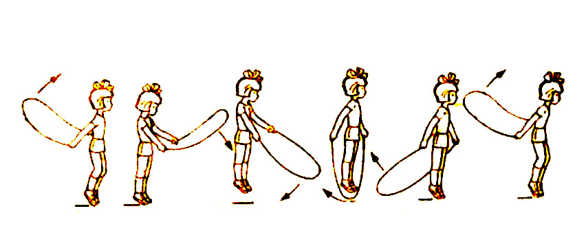 Эффективные упражнения на скакалке для похудения