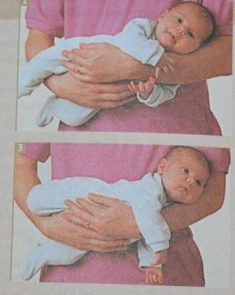 Как нельзя держать младенца. когда держать новорожденного столбиком. как держать малыша во время кормления и гигиенических процедур.
