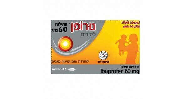 Ибупрофен для детей  (ibuprofen for children)