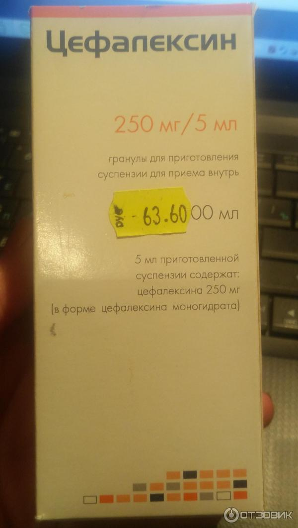 Суспензия для детей цефалексин 250 мг инструкция по применению антибиотика, дозировка препарата - популярные болезни