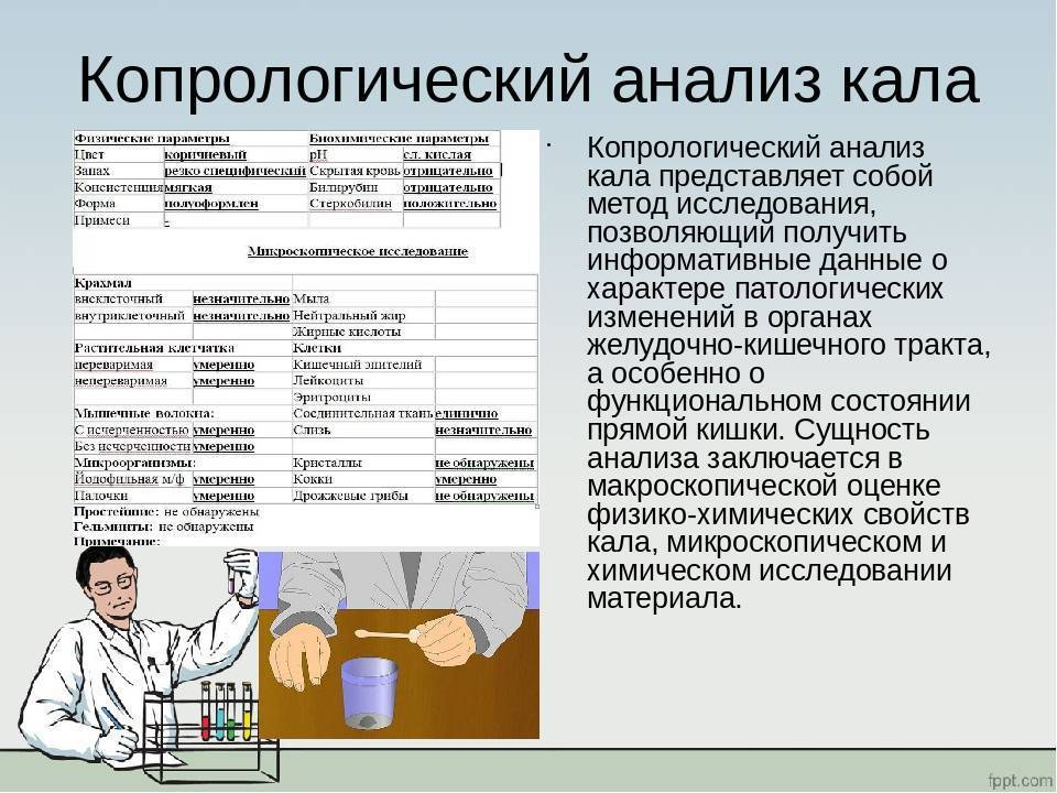 Анализ кала у грудничка: как собрать, расшифровка
