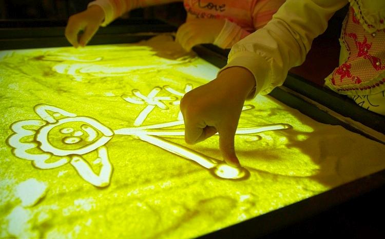 Рисование песком                                 методическая разработка по рисованию (младшая группа) по теме