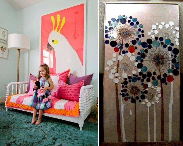 Декор комнаты - простые и стильные идеи украшения различных комнат (100 фото)