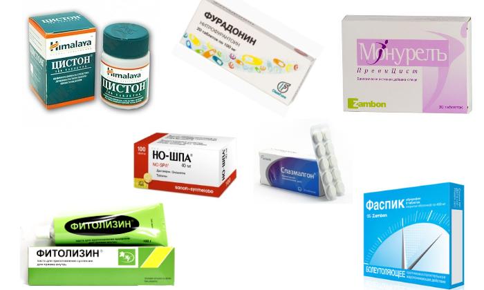 Цистит у детей: лечение, препараты