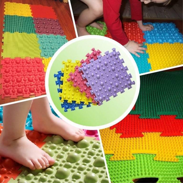 Массажный коврик для ног польза