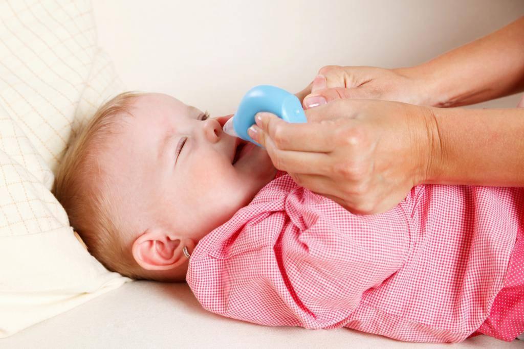 Что делать, если у ребенка заложен нос, но соплей нет - как и чем лечить?