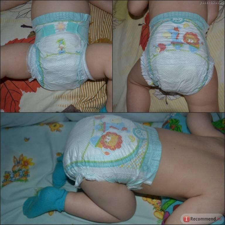 Сколько памперсов нужно новорожденному? подробный подсчет