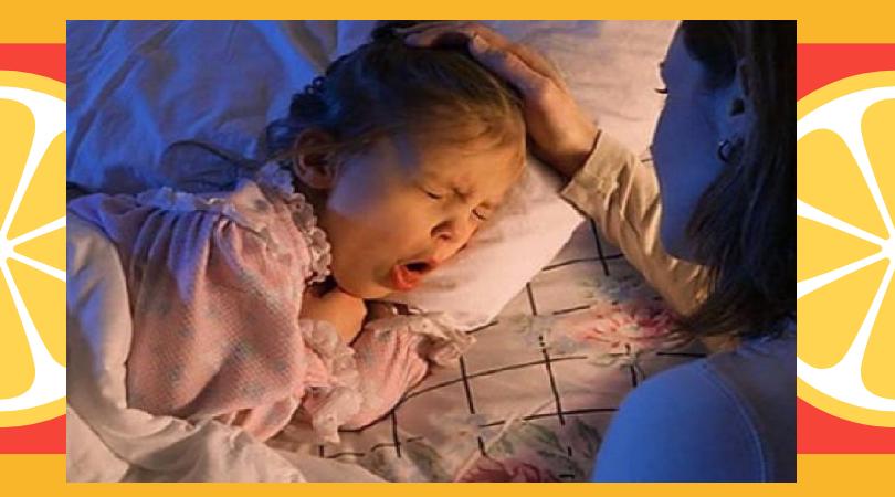 Кашель перед сном у ребенка