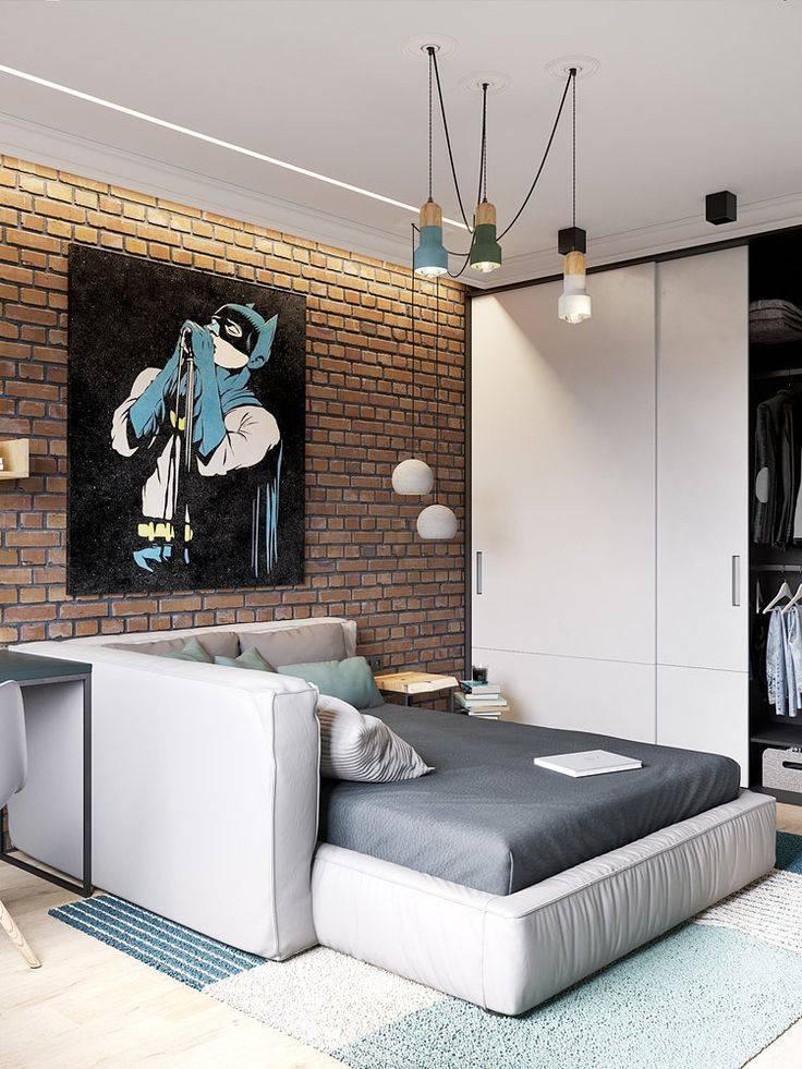 Детская в стиле лофт: дизайн подростковой комнаты, фотографии интерьера