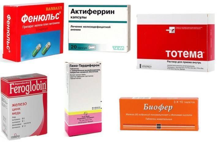 Витамины при анемии: дефицит каких веществ ее вызывает