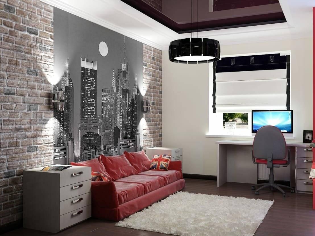 Интересные варианты дизайна комнат для подростков