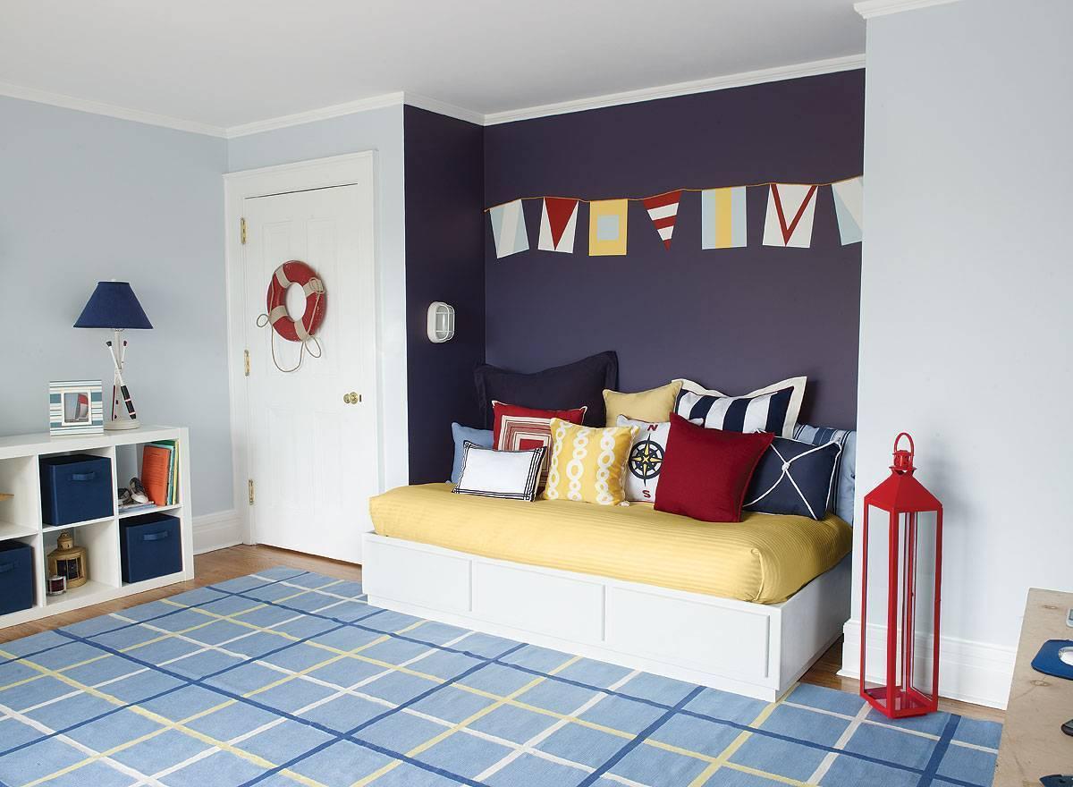 Цвет стен в детской: сочетание оттенков в интерьере комнаты для девочки или мальчика, фото примеров | детская | vpolozhenii.com