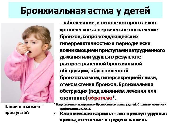 Бронхиальная астма у детей: симптомы, причины и лечение | воспитание детей, здоровье детей, беременность и роды