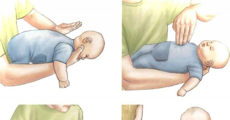 Что делать если ребенок подавился | уроки для мам