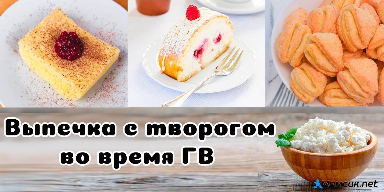 Творожные десерты для кормящей мамы — запретное лакомство или полезная привычка