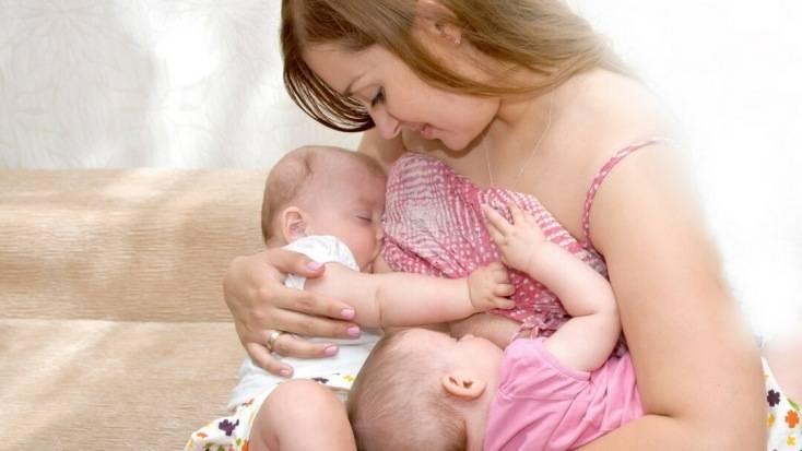 Беременность;роды; двойняшки; кормление грудью