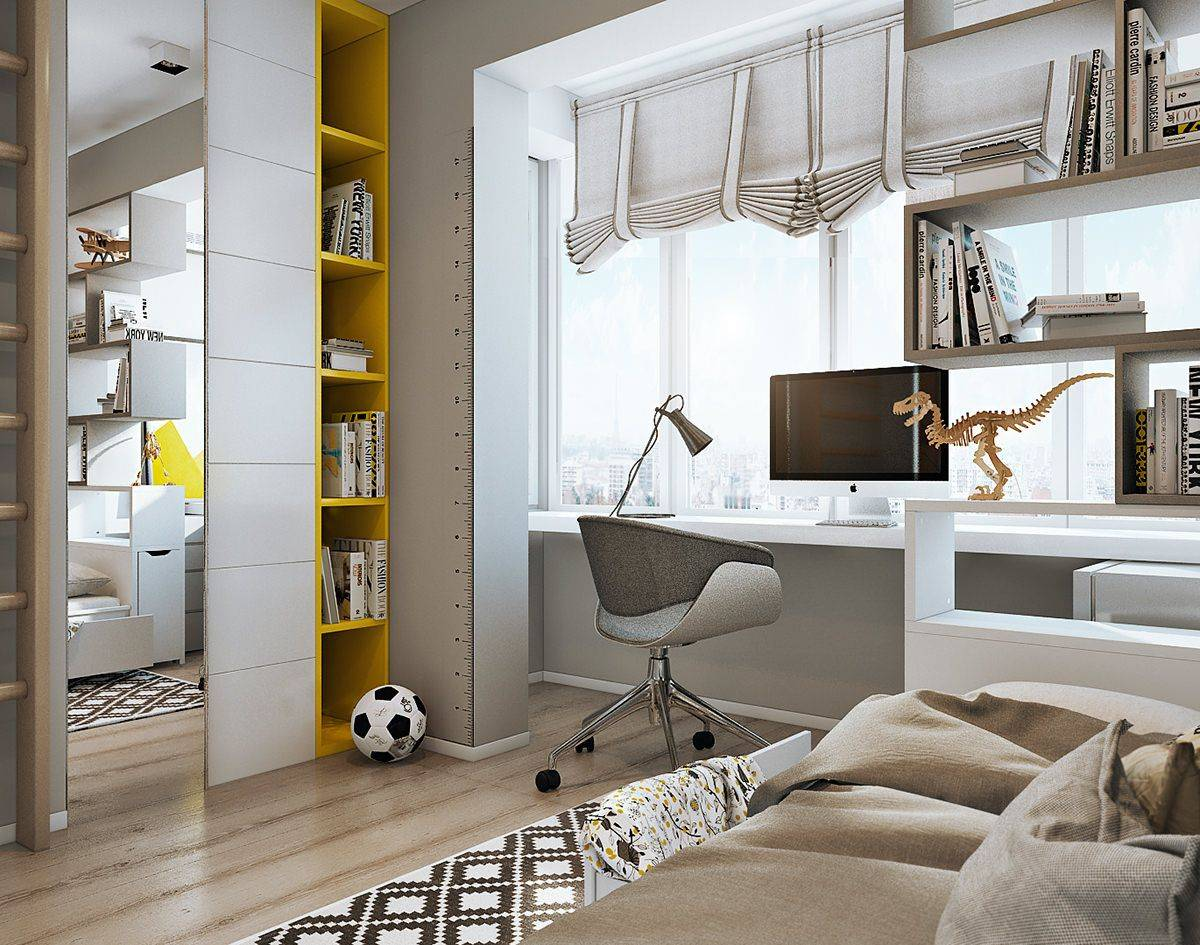 Чем отличается интерьер и дизайн комнаты подростка?