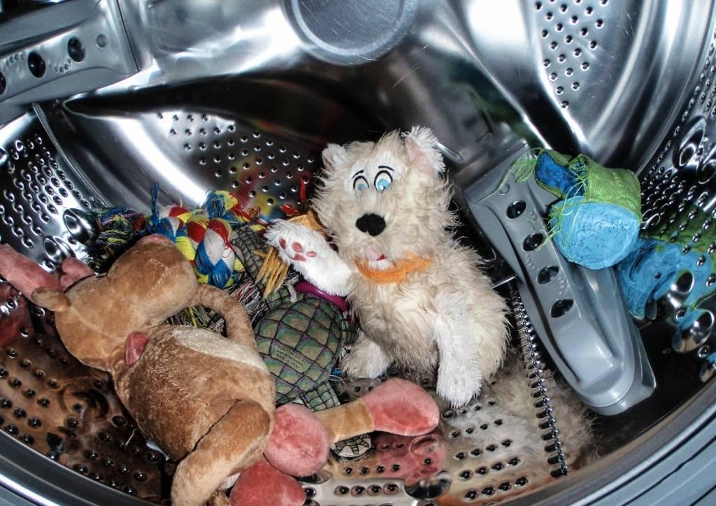Как постирать мягкие игрушки в машинке автомат