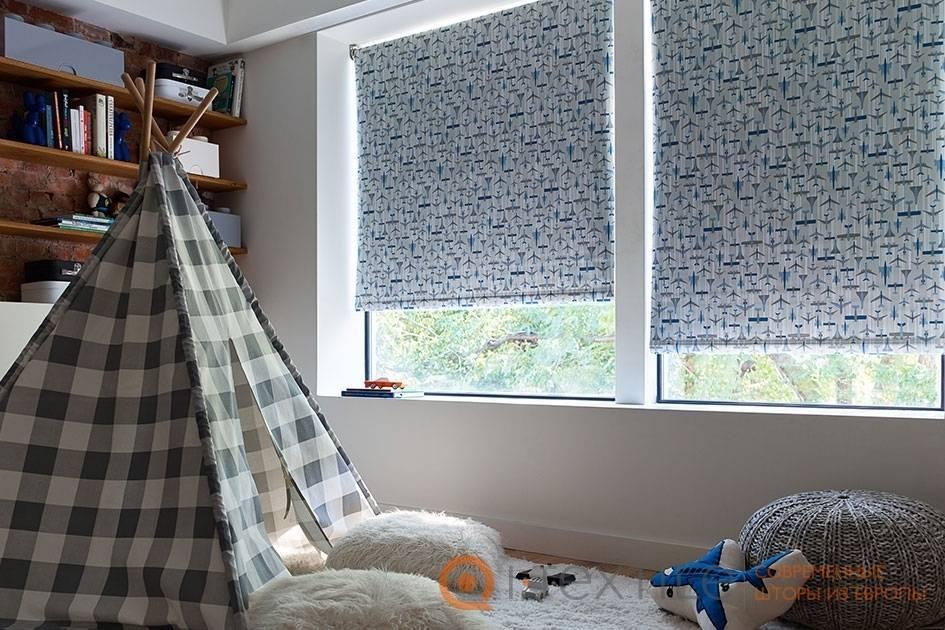 Модные шторы в детскую — тренды 2020