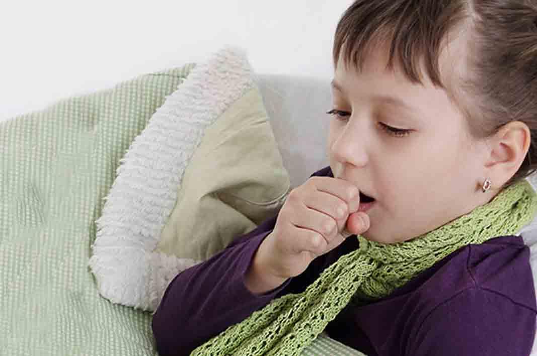 У ребенка осип голос и кашель