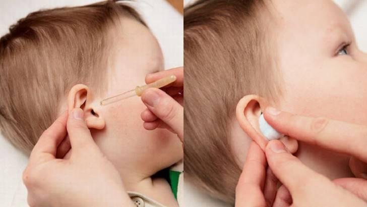 Лечение уха борной кислотой
