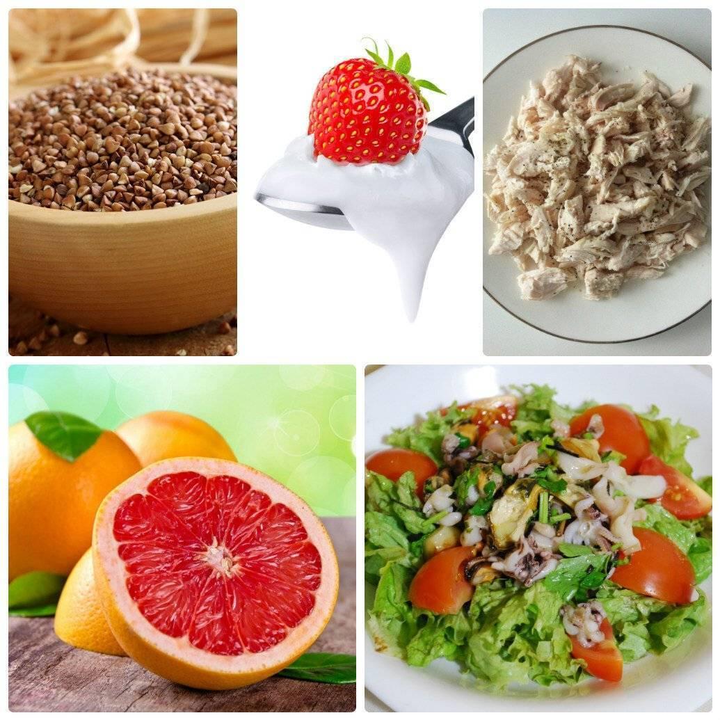 Белковая диета перед эко какие продукты
