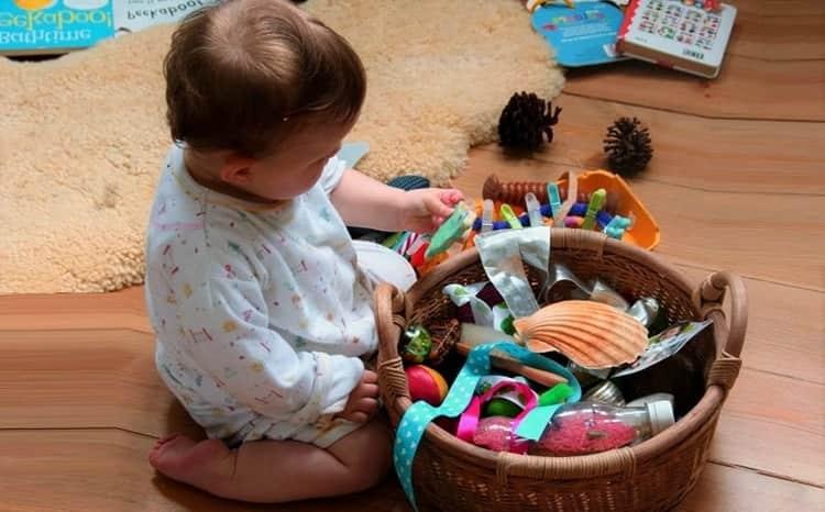 Упражнения для развития ребенка. развивающие игры. первые занятия для крохи.