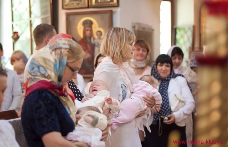 Крестины девочки правила и приметы для крестной
