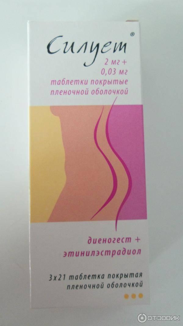 Силуэт таблетки: инструкция по применению гормонального противозачаточного препарата, противопоказания