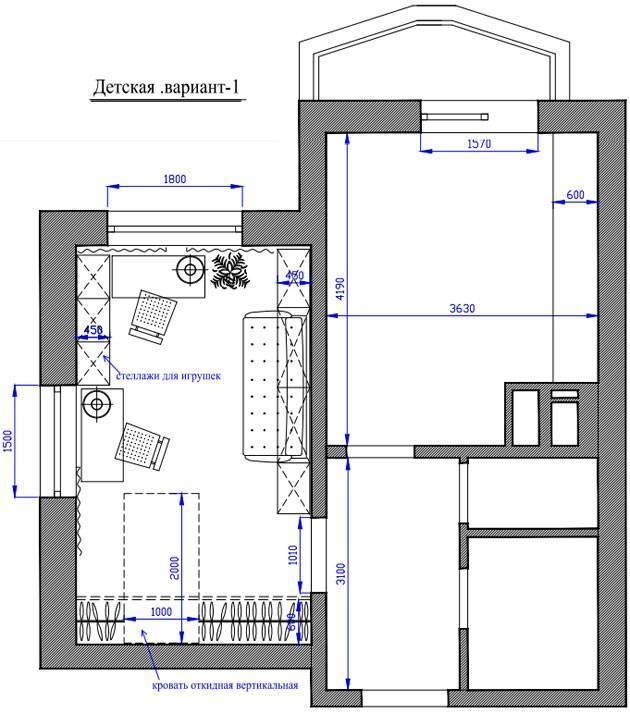 Детская 16 кв. м. - 110 фото правильного зонирования и советы профессионалов по выбору дизайна