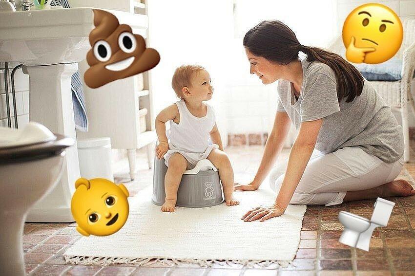 В каком возрасте приучать ребенка к горшку