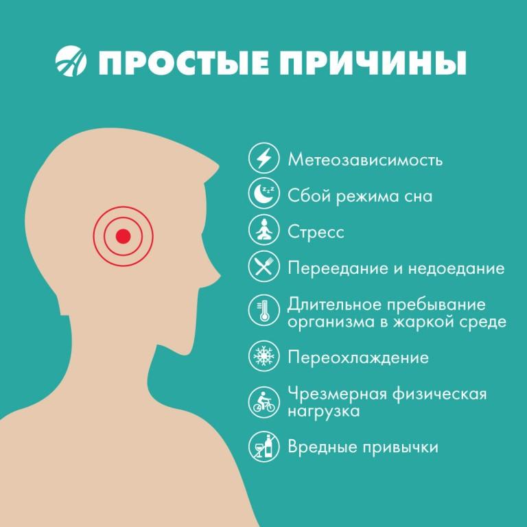 Дети и головная боль в области лба