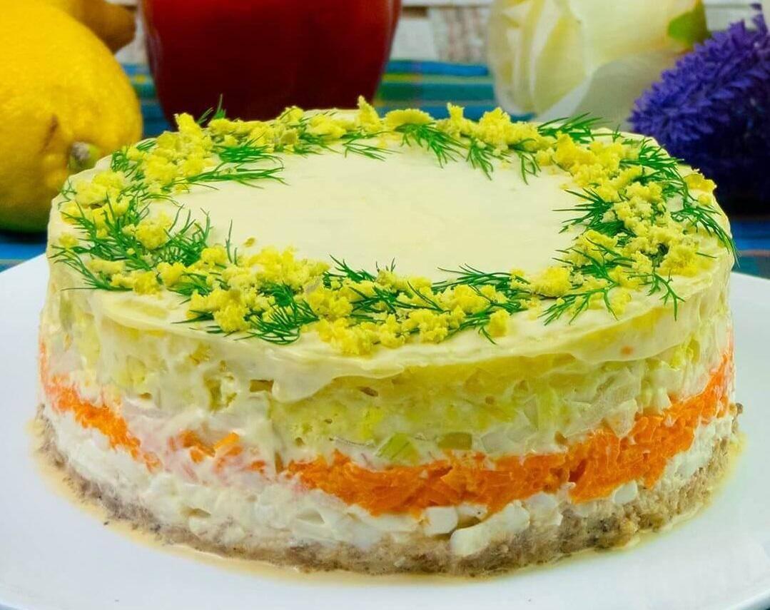 Салаты на день рождения - 12 простых и вкусных рецептов салатов с праздничным оформлением