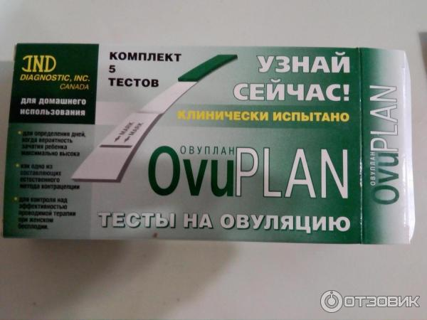 Тест на овуляцию овуплан: описание, инструкция, цена