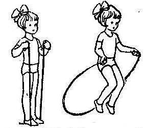 Как научить ребенка прыгать на скакалке за день?