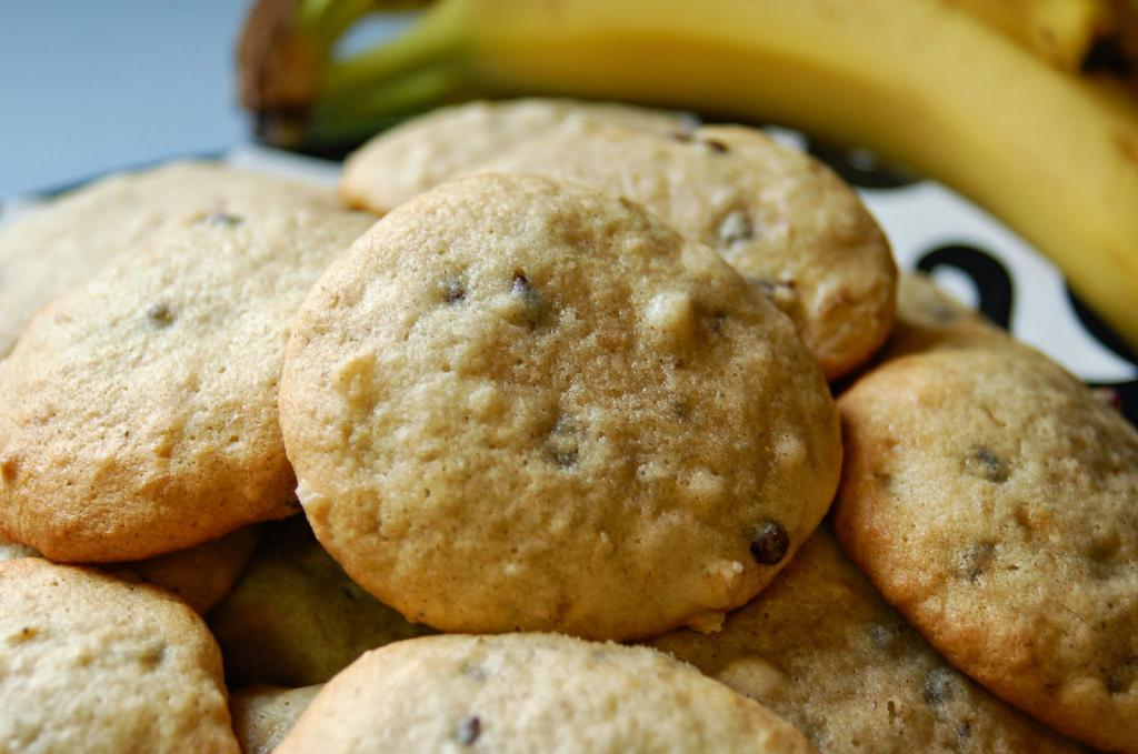 Овсяное печенье с бананом без сахара  для детей до 1 года