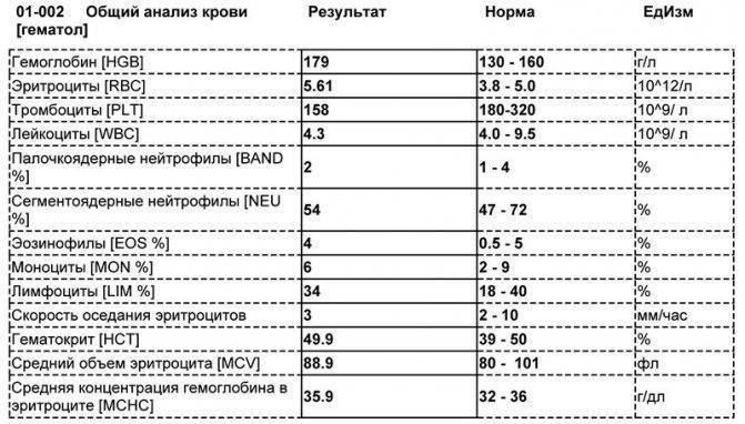 Атипичные мононуклеары в крови: норма и причины отклонений