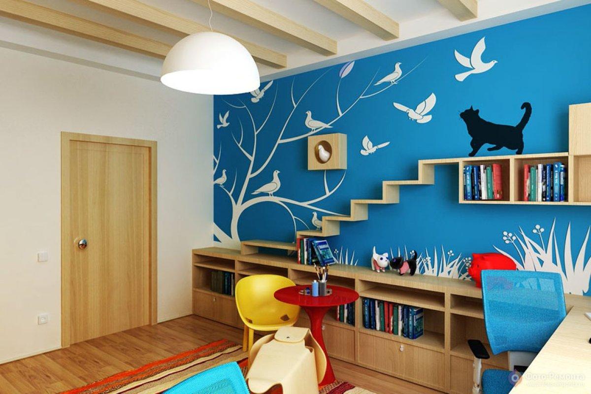 Обои в детскую комнату для мальчиков: виды, тематика, цвета, дизайн, фотообои