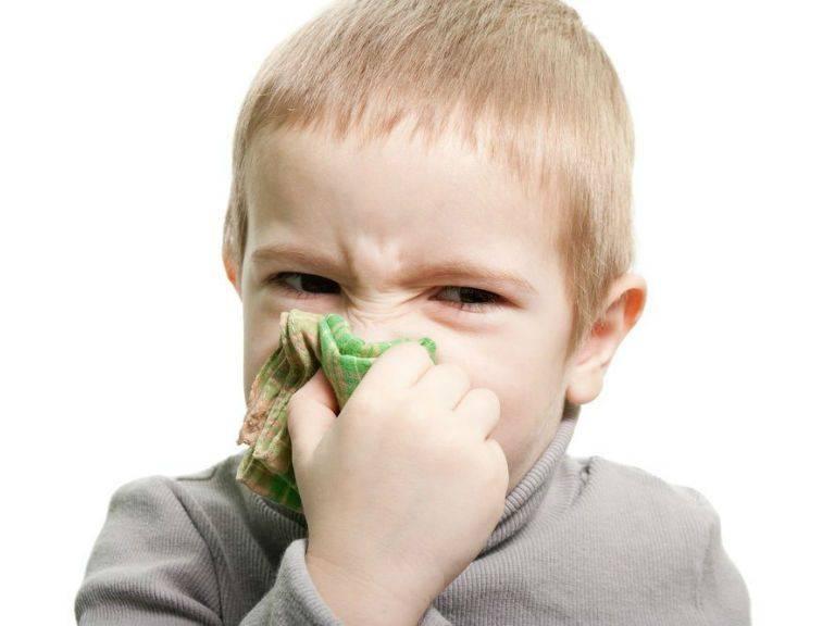 Причины и лечение заложенности носа без соплей у детей разного возраста + видео