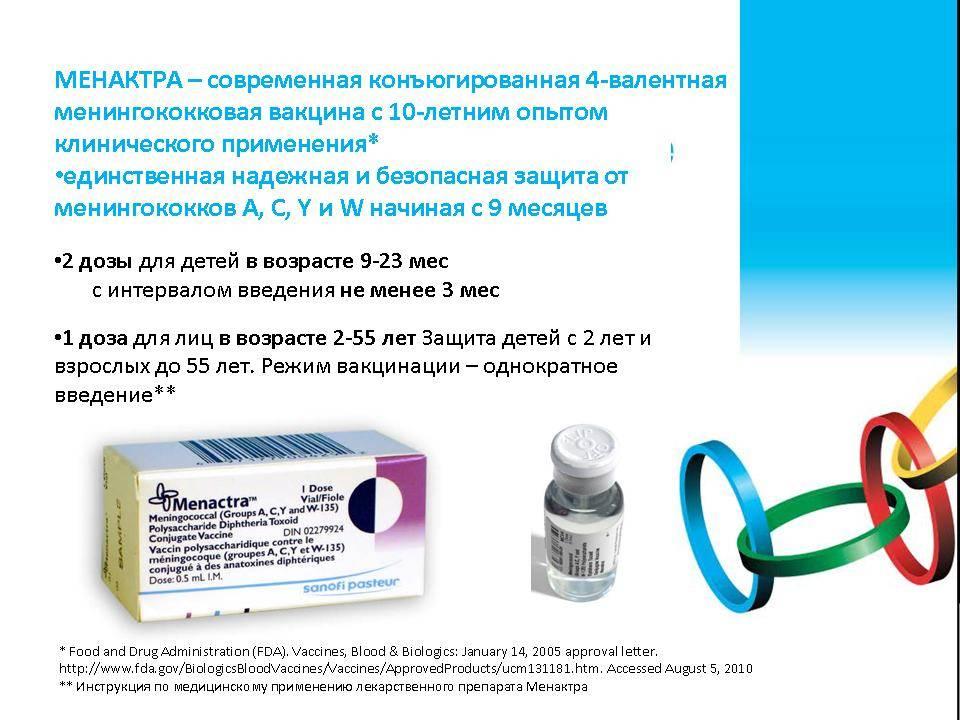 Прививка от менингита / mama66.ru