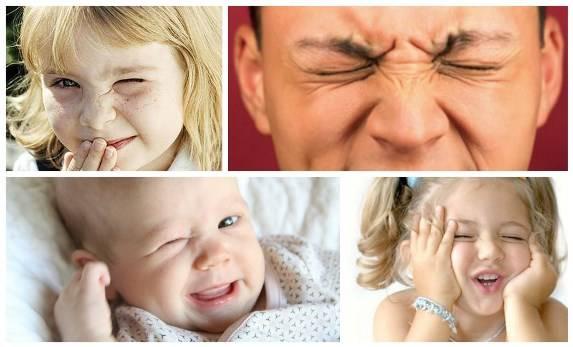 Ребенок часто моргает - причины, возможные заболевания
