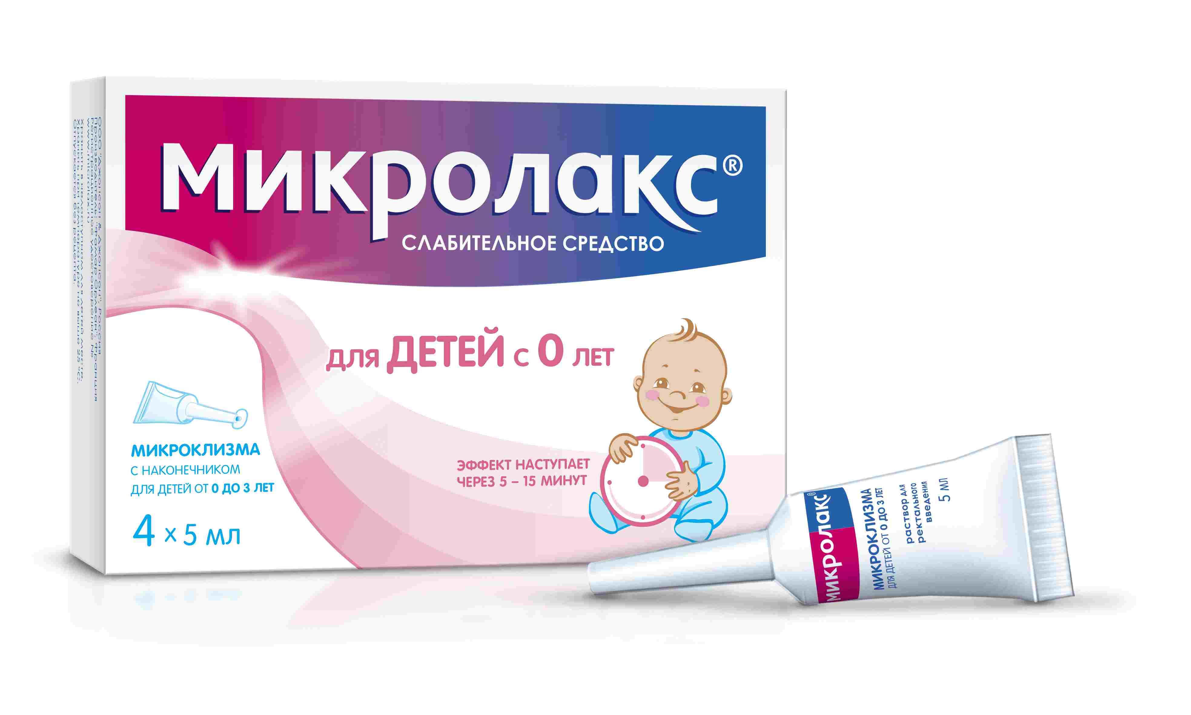 Микролакс для новорожденных: инструкция по применению микроклизмы ребенку