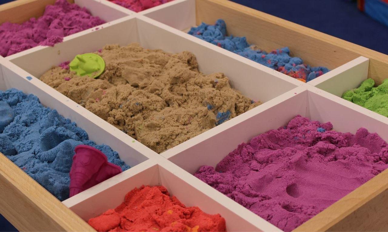"""""""что такое кинетический песок?"""""""