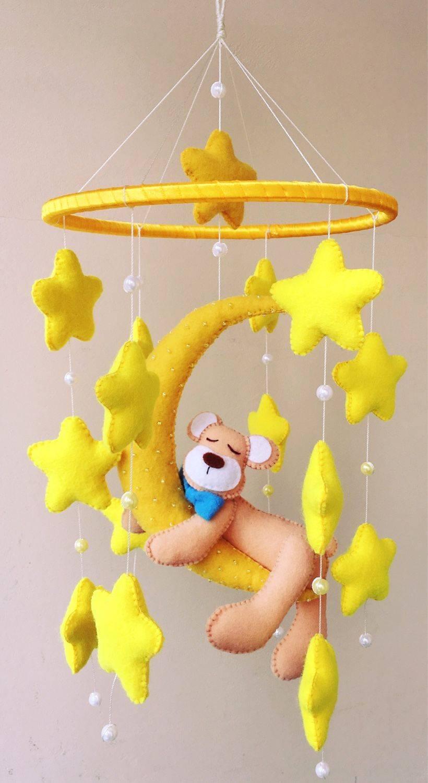 Как сделать детский мобиль на кроватку своими руками для новорожденных | дуэт душ