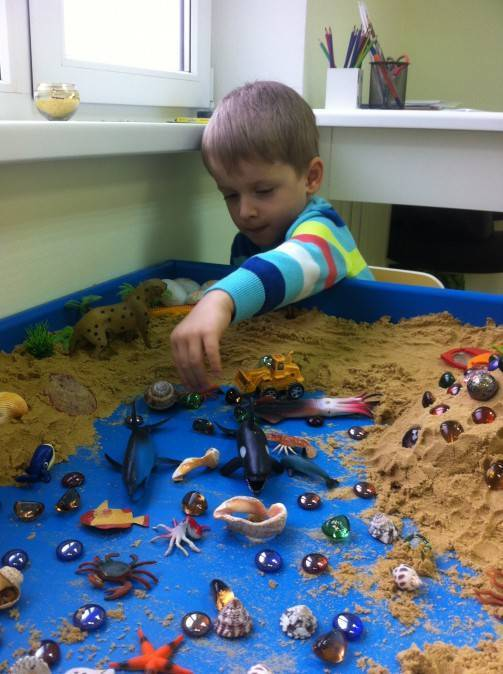 Детская песочная терапия: занятие и техника, сказки на песке