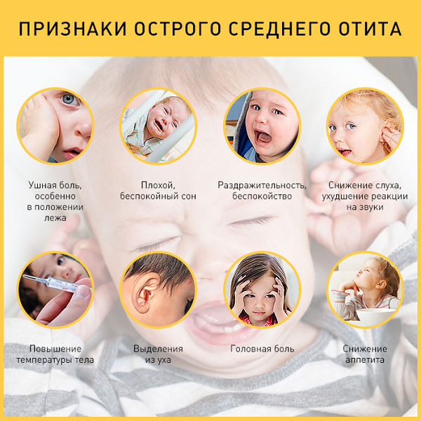 Народные средства лечения отита у детей